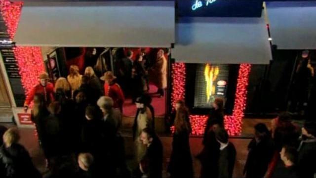 Adult show club Crazy Horse cabaret in Paris erotic lounge video