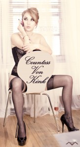 Femdom Countess Von Kink nylon stockings fetish