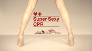 Sexy CPR video by Fortnight Lingerie