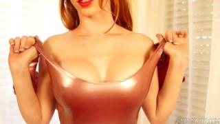 Austin White latex fetish model video teaser
