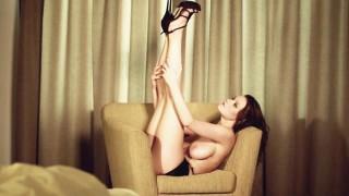 Nude model Marjana in Delicacies by Simon Bolz